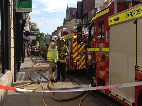 thisisoxfordshire: Firefighters tackling blaze in O