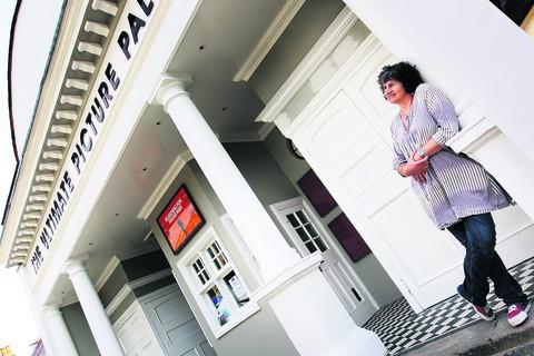thisisoxfordshire: Becky Hallsmith outside the revamped cinema