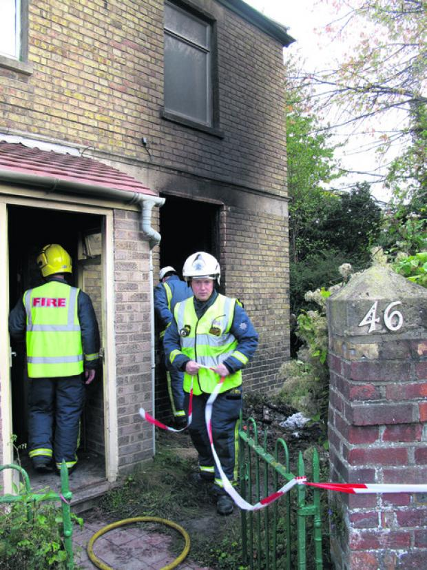 thisisoxfordshire: The Abbey Road, Oxford, home was damaged by fire in the arson attack