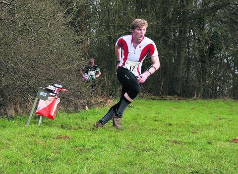 thisisoxfordshire: Thames Valley Orienteering Club member Alex Fulbrook  orienteering at Shotover Park this summer