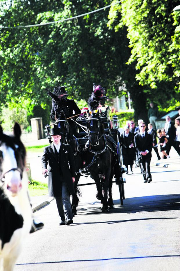 thisisoxfordshire: The funeral cortege