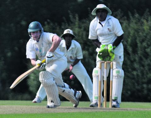 Tim Morgan helps guide Aston Rowant to their nine-wicket victory