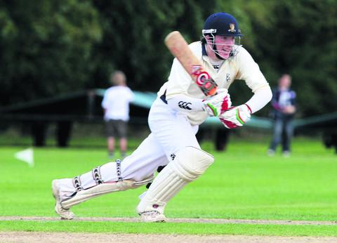 Tom Wilson hit 80 to help Westbury to a victory which keeps them in the hunt for the Division 1 title with one game remaining
