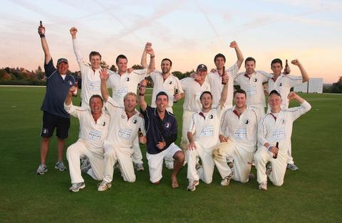 Great & Little Tew cannot hide their delight at winning the Division 1 title