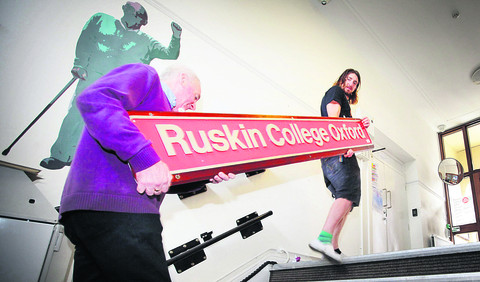 End of an era as Ruskin College moves from its original home