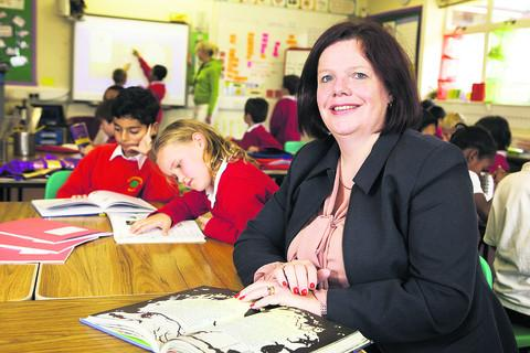 St Christopher's Primary School headteacher Alison Holden was pleased with its Key Stage 1 results.