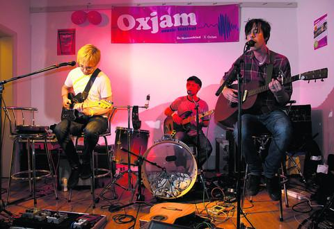 thisisoxfordshire: Family Machine play at the Turl Street Kitchen for Oxjam