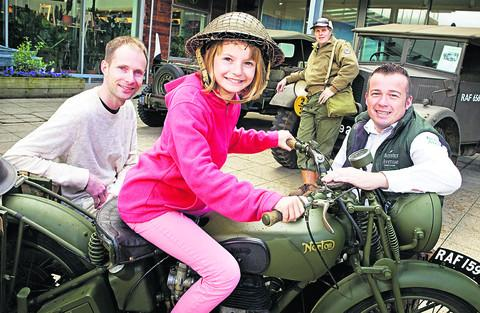 thisisoxfordshire: Visitors transported back into the Second World War