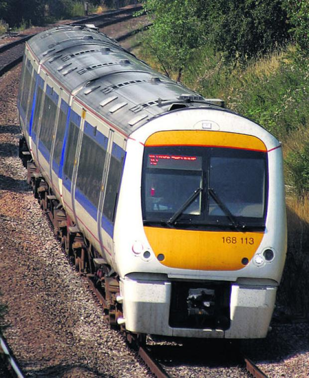 thisisoxfordshire: A Chiltern Railways Clubman train