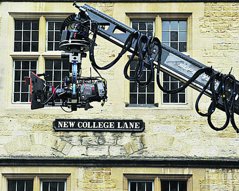 Oxford is the backdrop for star-studded movie