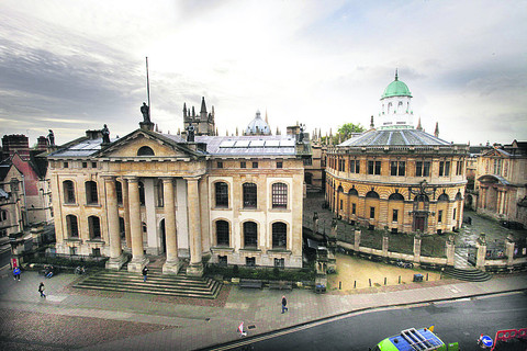 Revamp is well under way to create public space at Bodleian Library