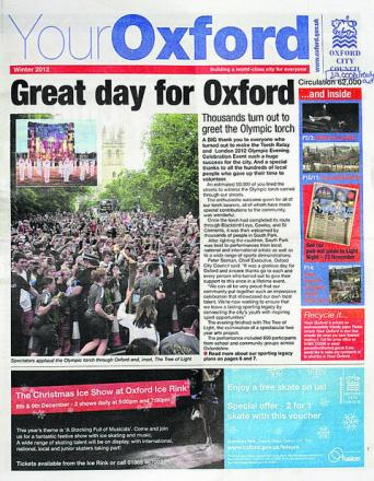The Your Oxford newsletter