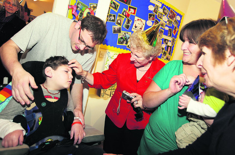 Hospice marks 30th year with special visit