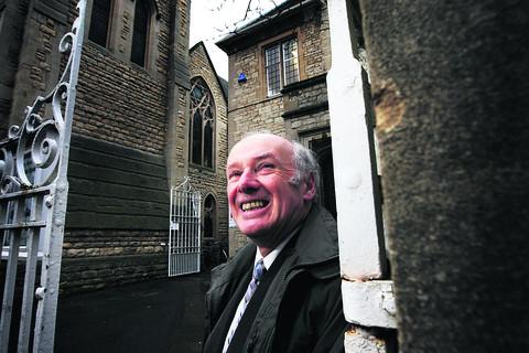Derek Rawson is chairman of a steering group aiming to raise £1m to redevelop Wesley Memorial Church. Picture: OX56525 Ed Nix