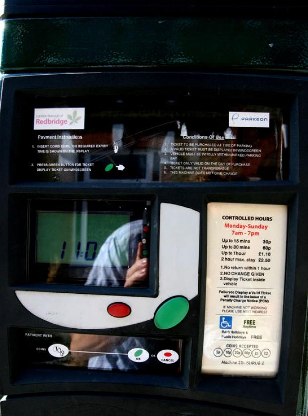 thisisoxfordshire: Thieves snatch £1,600 from pay-and-display machines