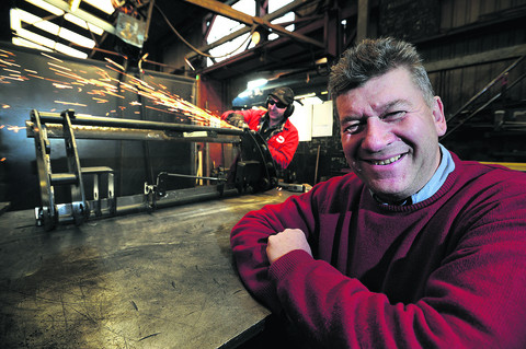 Agricultural engineer remains at cutting edge