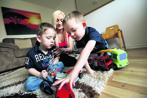 £65k needed for op to help twin boy walk like his brother