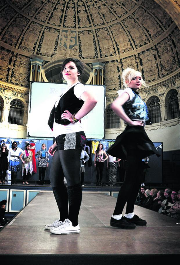 Oxford and Cherwell Valley college students strut their stuff