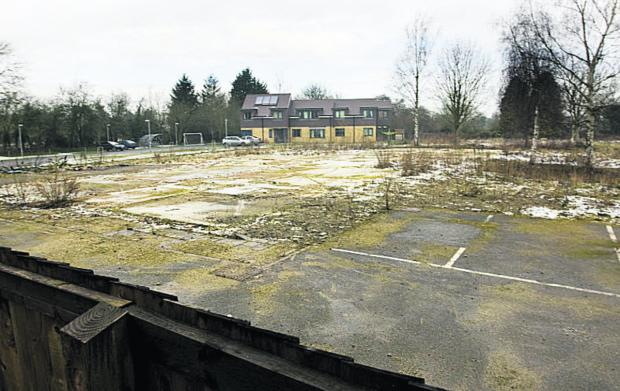 The site earmarked for a care home in Kidlington