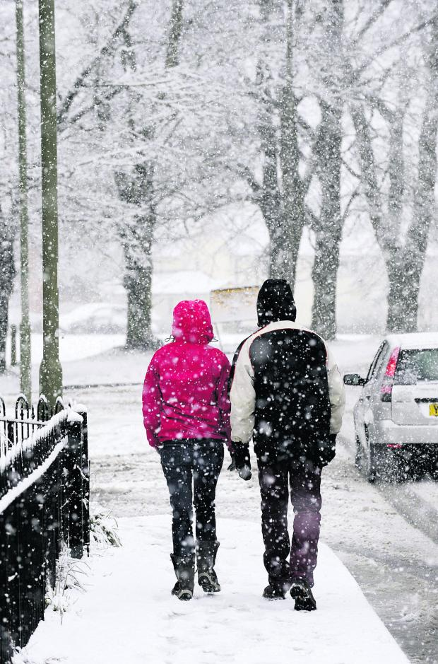 thisisoxfordshire: Snow predicted for parts of county today