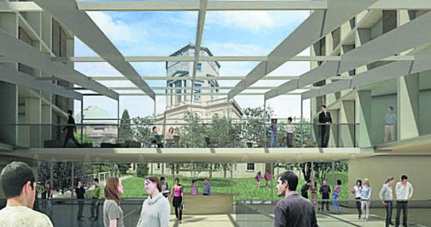 Oxford University reconsiders library plan for Radcliffe Infirmary site