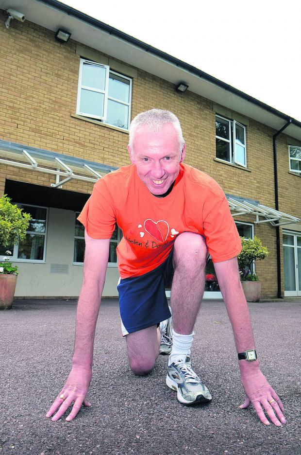 thisisoxfordshire: Time Wraith is on his marks to beat last year's half marathon time