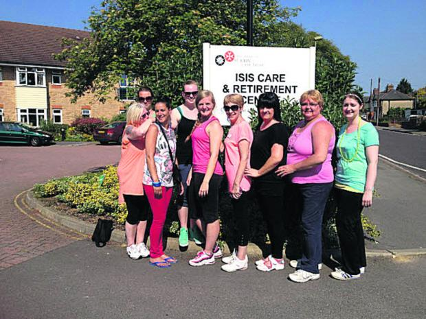 Care home staff and volunteers