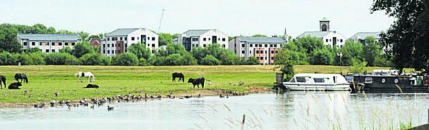 thisisoxfordshire: The Castle Mill development