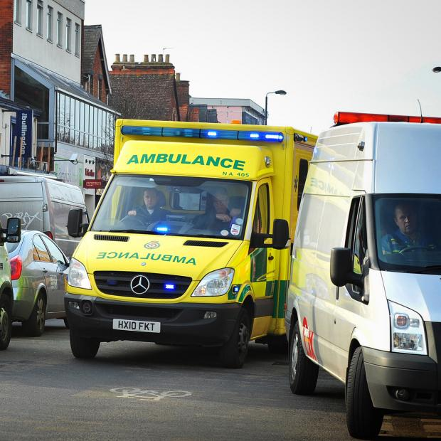 thisisoxfordshire: Driver taken to hospital after collision in Oxford