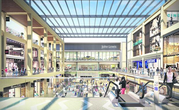 Plans for Westgate shopping centre