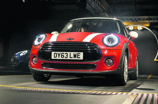 thisisoxfordshire: The launch of the new Mini at Cowley