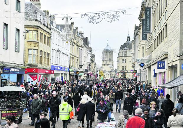 thisisoxfordshire: Oxford's population is increasing rapidly