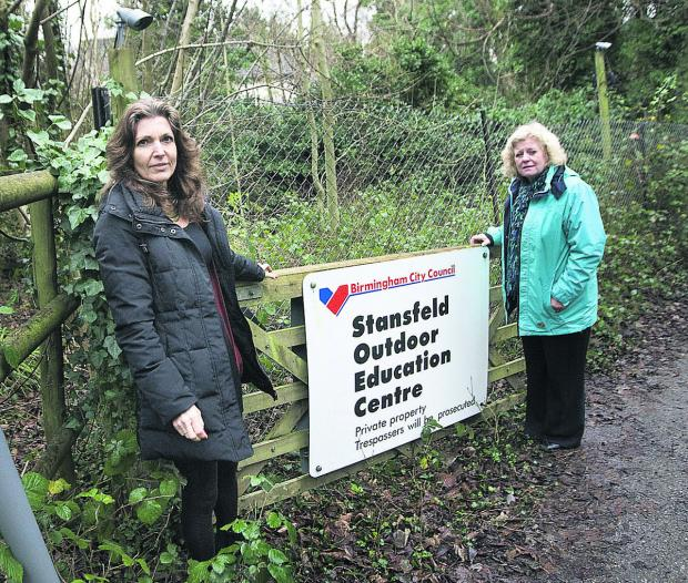 Windmill Primary School headteacher Lynn Knapp and councillor Roz Smith at the education centre. Picture: Antony Moore