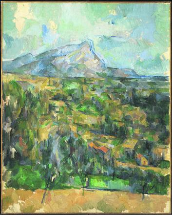 Paul Cézanne's Mont Sainte-Victoire will be one of the stars of the show.