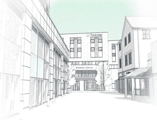 thisisoxfordshire: Artist's impression of the new building.