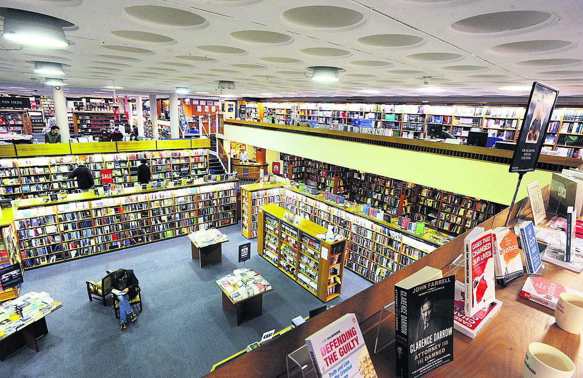 Blackwell's in Broad Street boasts four floors and contains the world's largest single display of books in one room. Picture: OX64476 Jon Lewis