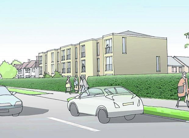 thisisoxfordshire: An artist's impression of the development