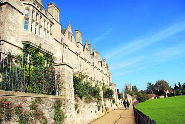 thisisoxfordshire: Students at Merton College could be housed in a new development.