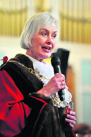 Lord Mayor Dee Sinclair