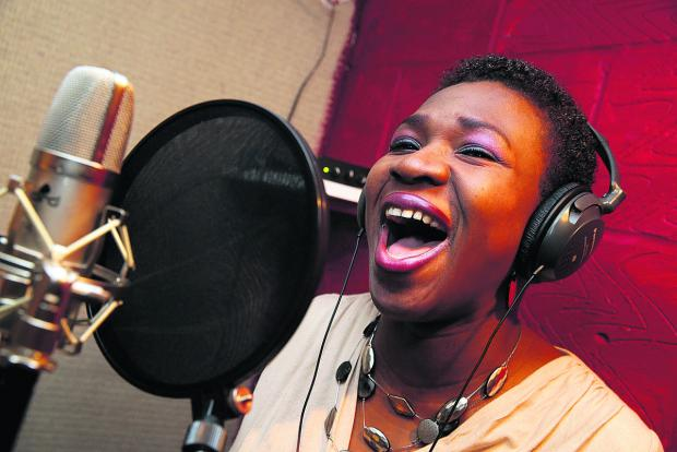 thisisoxfordshire: Faith Adesuwa of Cowley who has recorded her own album