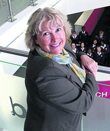 Principal Sue Croft of Oxford Spires Academy