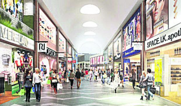 The planned Westgate future