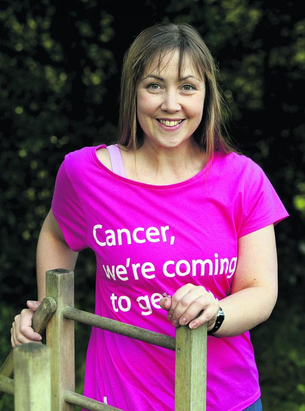 thisisoxfordshire: LEADER: Victoria Morrison will be running a warm-up session again at this year's Race for Life