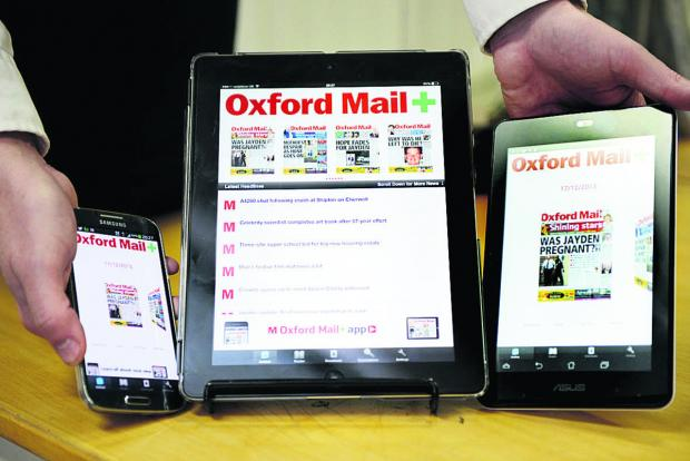 thisisoxfordshire: The Oxford Mail+ is available for iPads, iPhones, Android smartphones and tablets and Amazon's Kindle Fire