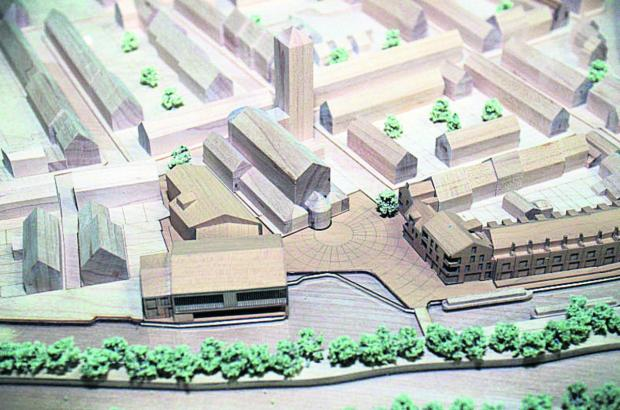 thisisoxfordshire: A model of the boatyard