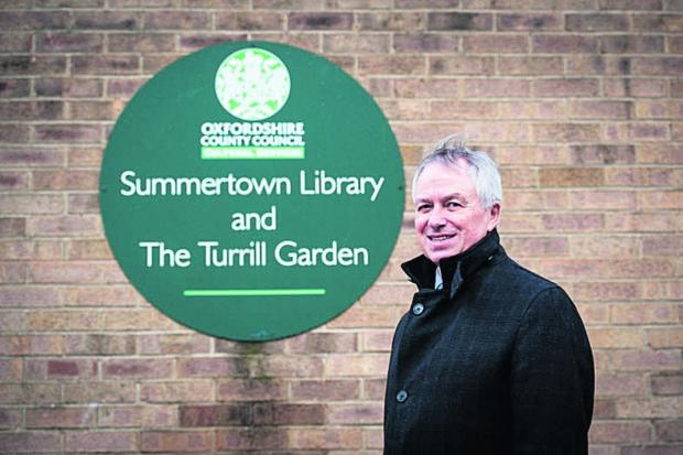thisisoxfordshire: Marcus Ferrar, chairman of the Friends of Summertown Library