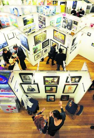 Art fair is a show of creative flair