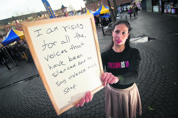 Dana Mills at Gloucester Green where a flash mob will take place today