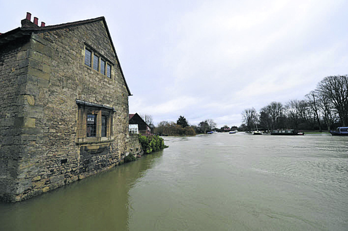 Flooding in Abingdon earlier this month