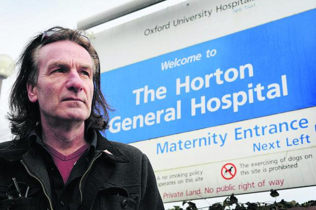 "thisisoxfordshire: Keith Strangwood, chairman of the Keep the Horton General campaign, says the service changes are ""not on"". Picture: OX64764 Jon Lewis"